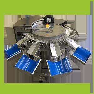 Calibradora circular XXL de 4 salidas